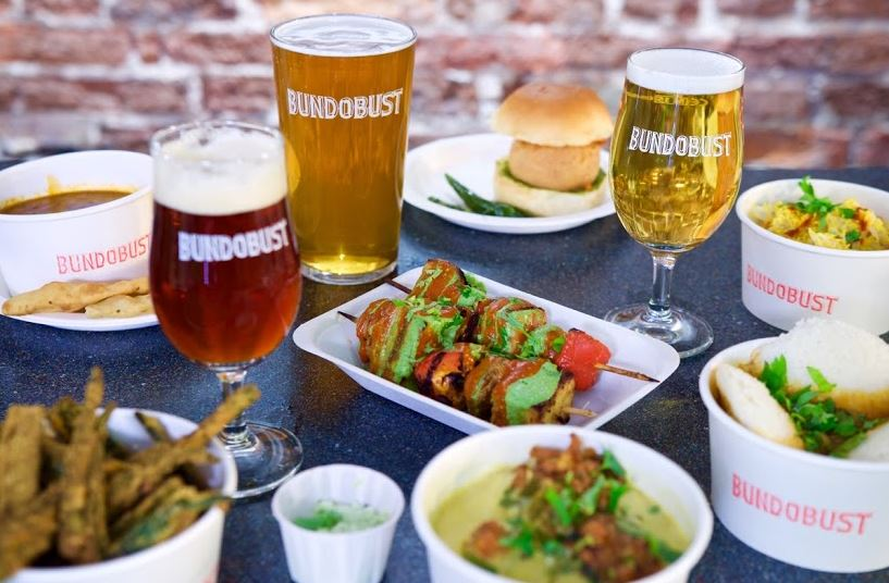 Bundobust Manchester is best known for its vegetarian small plates and craft beers