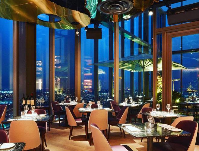 20 Stories Restaurant Interior