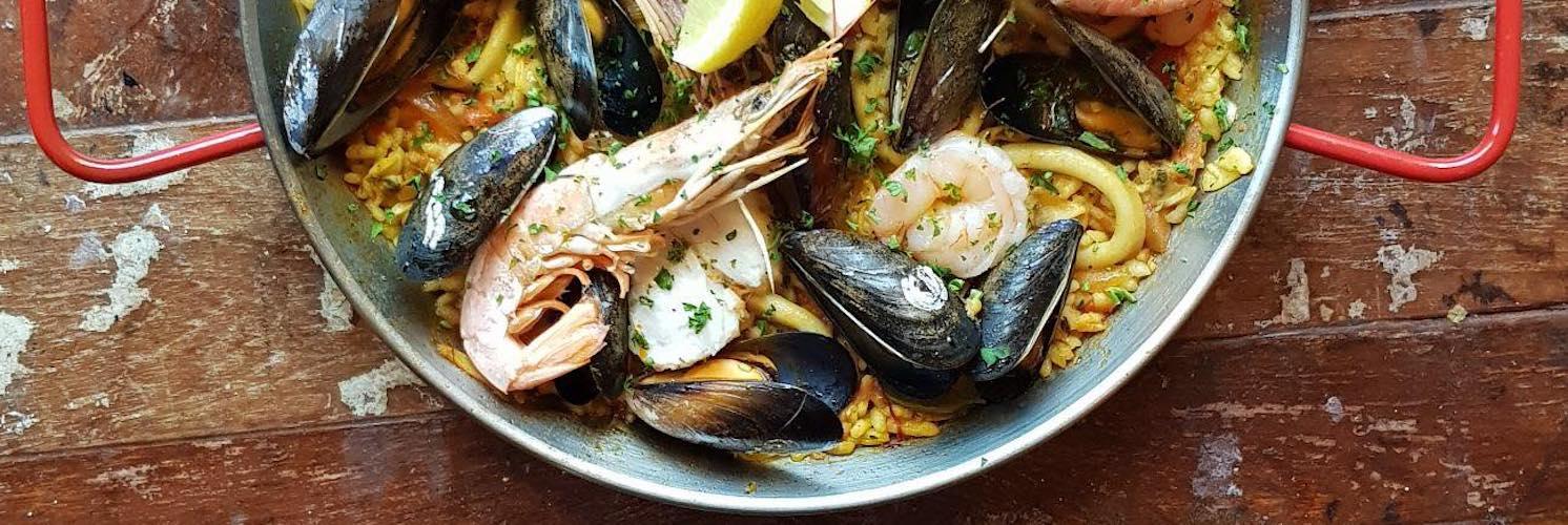 Levanter Restaurant Ramsbottom Paella