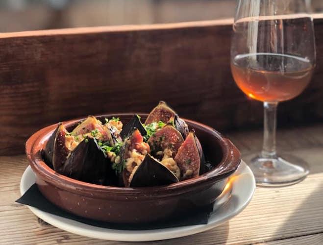 Levanter Restaurant Ramsbottom Figs Wine