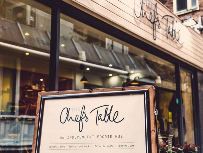 Chef's Table in Chester is the brainchild of local chef Liam McKay