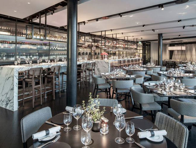 Inside Crafthouse, the roof-top restaurant from D&D group in Leeds
