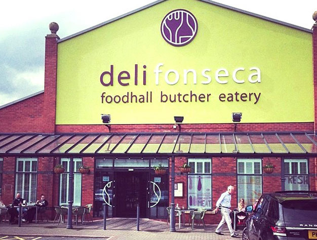 Liverpool's popular deli and restaurant Delifonseca on Brunswick Dock