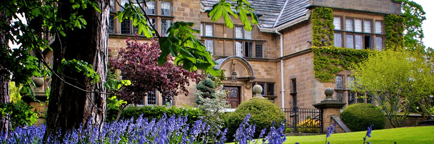 Seasonal ingredients are sourced from the gardens at Fischers Baslow Hall, the Michelin-starred restaurant in Derbyshire.