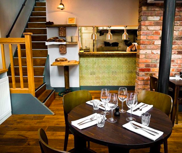 Inside Hispi bistro in Didsbury - one of Confidential Guides' recommended Manchester restaurants.