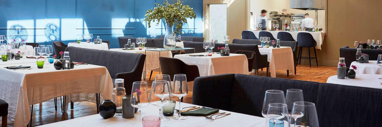 The interior of Home restaurant in Leeds - brainchild of MasterChef finalist Liz Cottam.