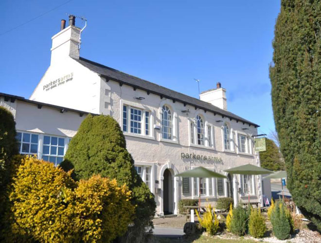 The Parker's Arms is a homely pub serving superb modern European food in Newton-in-Bowland in Lancashire.