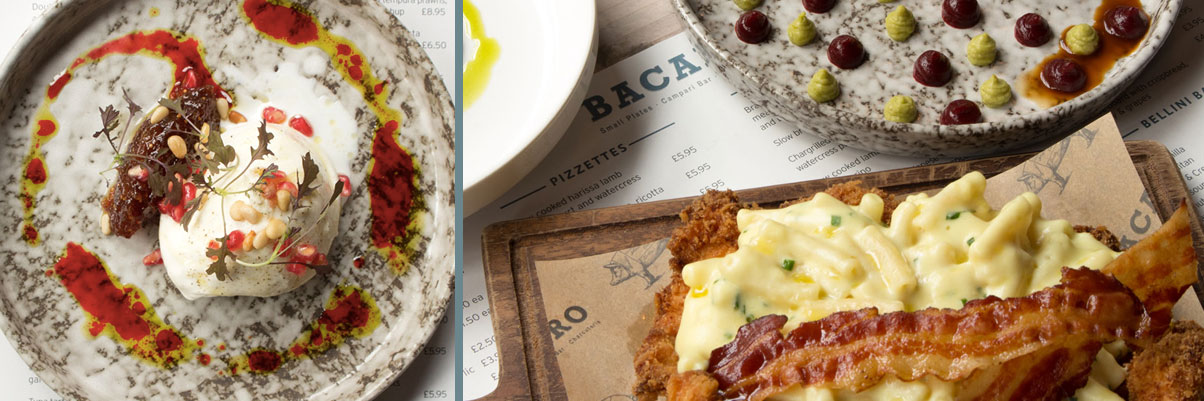 Some of the cicchetti, or small plates, served at Bacaro in Liverpool city centre.