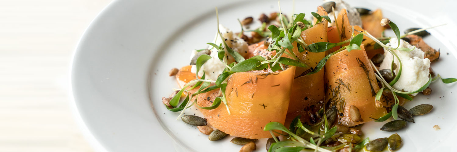 One of the dishes served at The Swine That Dines: a Confidential Guides recommended restaurant