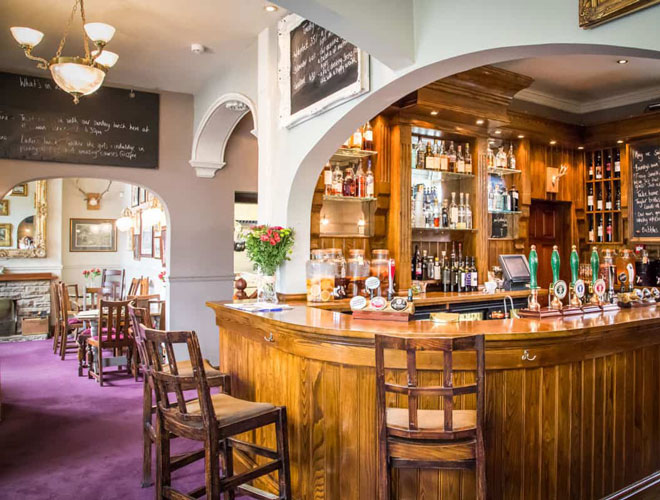 Inside The White Swan at Fence - a Michelin star restaurant near Burnley from local chef Tom Parker