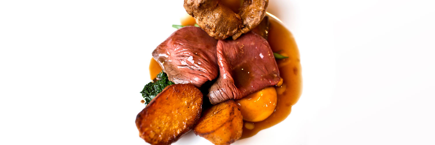 A roast dinner from Sticky Walnut, Gary Usher's bistro in Hoole near Chester