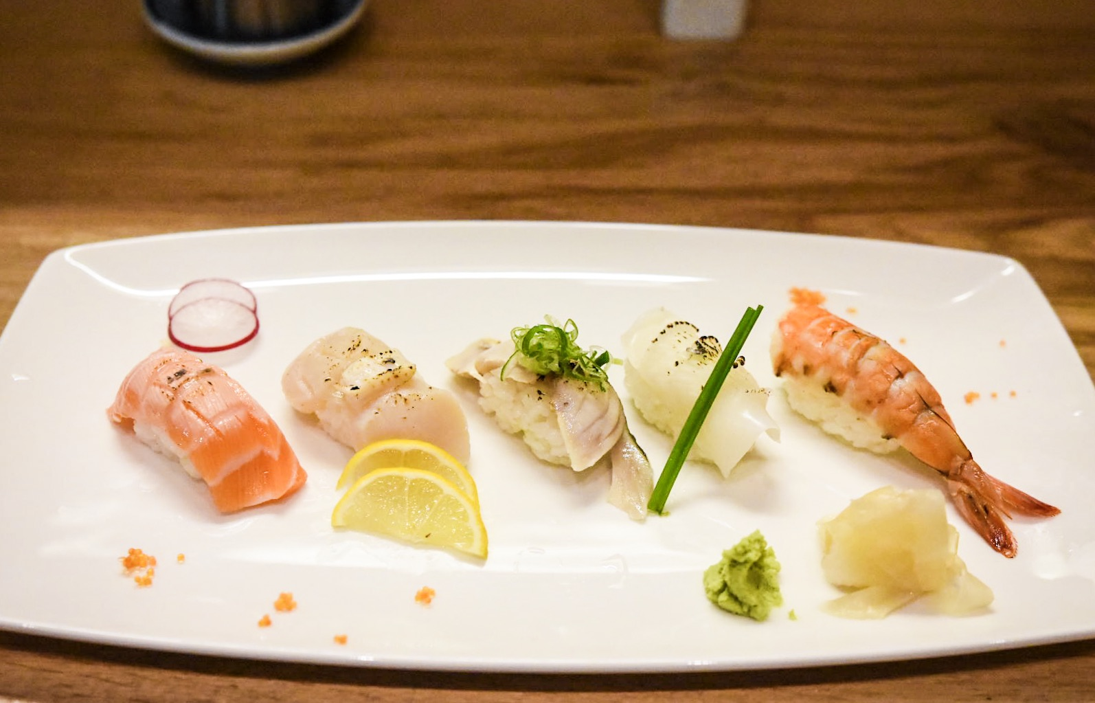 Aburi served at Sushi Bar HanaMatsuri, a Confidential Guides recommended Japanese restaurant in Meanwood, Leeds