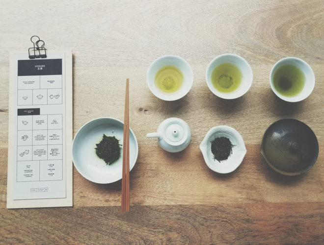 Chaology in Manchester Ancoats offers traditional Japanese tea and sweets in a peaceful environment