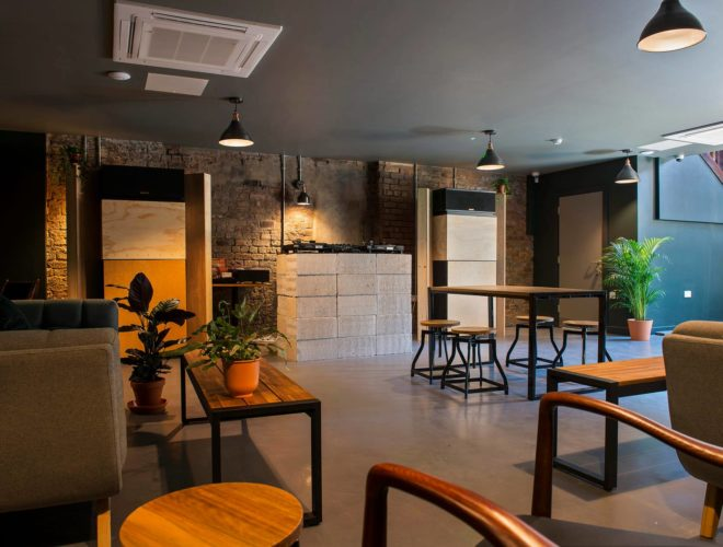Inside NAM, the Vietnamese restaurant and bar on Cutting Room Square in Ancoats.