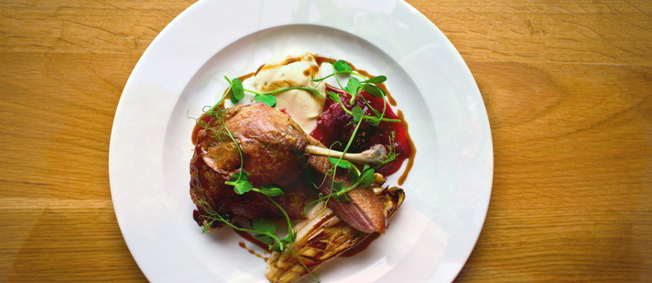 One of the meat dishes served at The Lime Tree in West Didsbury: a Confidential Guides recommended restaurant