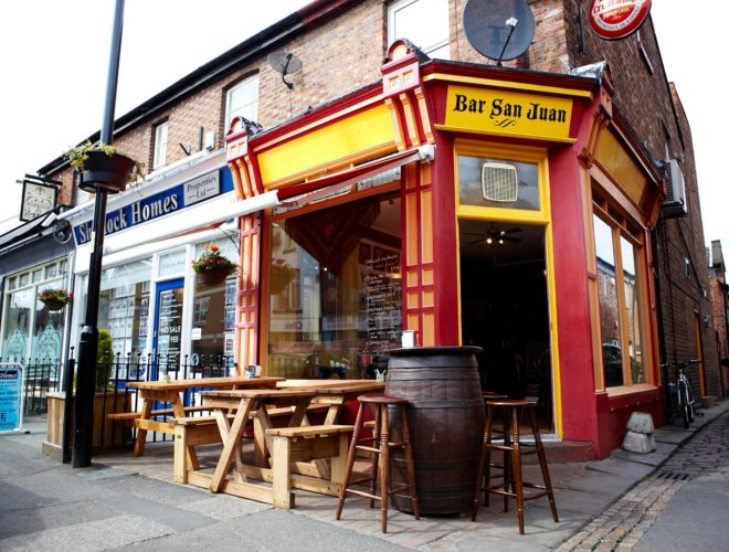 Beech Road's Bar San Juan is a Chorlton favourite for Spanish food and sangria