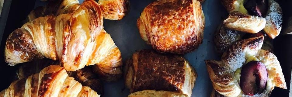 Croissants at Blanchflower, Altrincham's artisan bakery-cafe