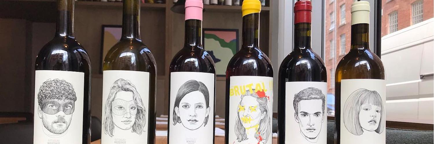 Natural wines and more conventional choices are served at Erst in Ancoats.