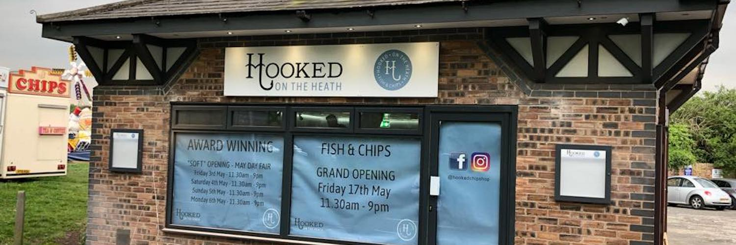 Hooked on the Heath is a favourite for sustainable fish and chips in Knutsford, Cheshire.