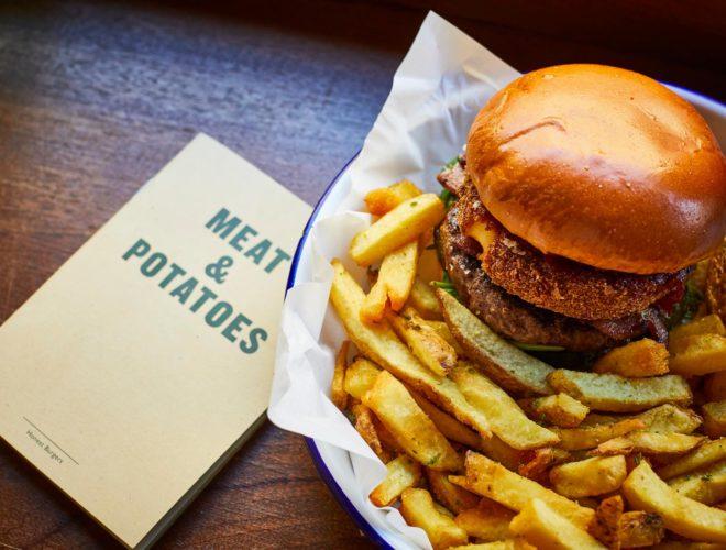 Meat and Potatoes Honest Burger MCR
