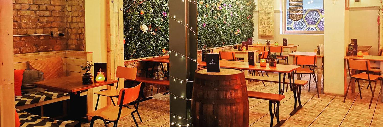 Alvarium restaurant indoor seating manchester