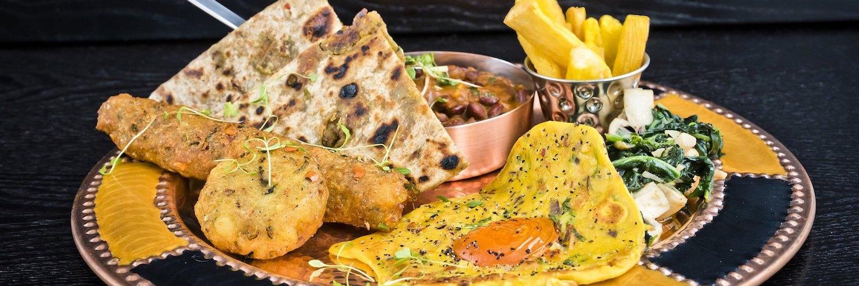 Bhaji Pala Breakfast at Bhaji Pala Restaurant Gatley manchester