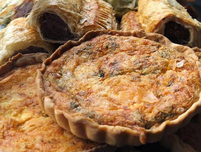 Pokusevski's, Heaton Moor, quiche