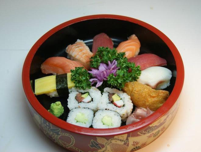 12pcs Mixed Sushi at Kyotoya Manchester