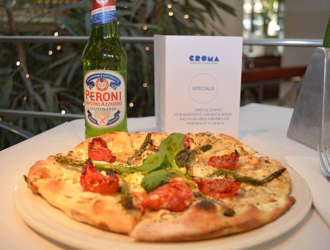 Croma Manchester pizza beer