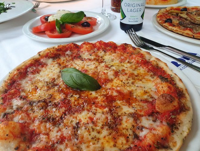 Croma Prestwich pizza beer