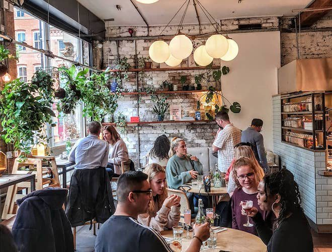 Evelyn's Manchester Dining