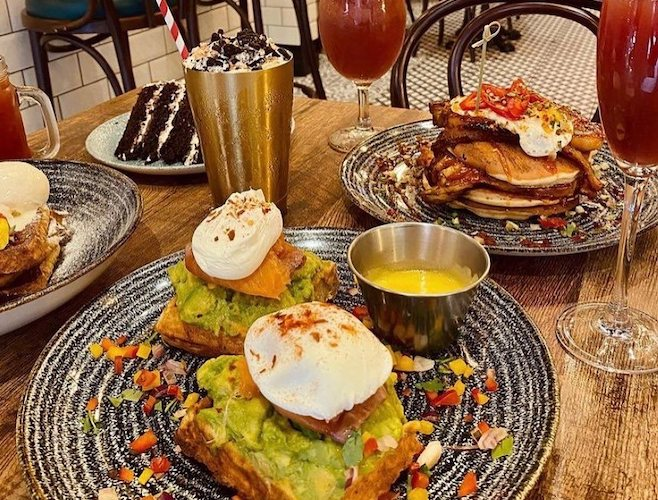 Fress, Manchester, Northern Quarter, Brunch