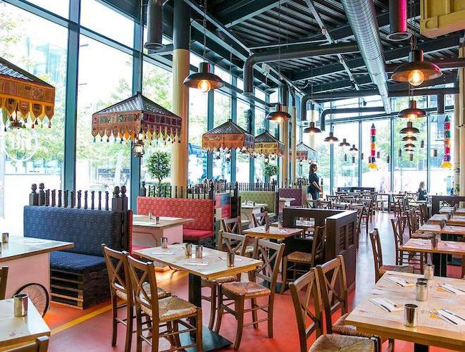 Indian Tiffin Room restaurant manchester
