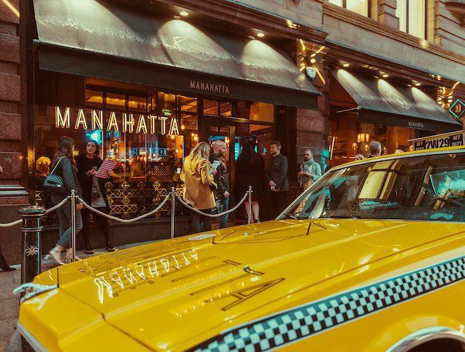 Manahatta Manchester New York Taxi