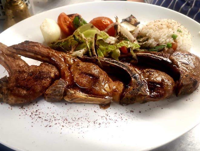 Masis Armenian Restaurant Sale Lamb