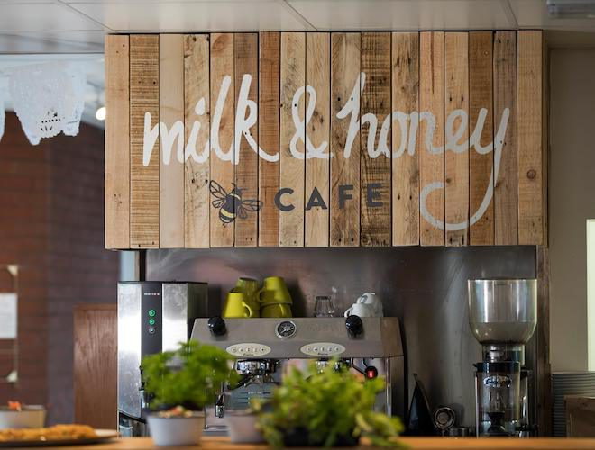 Milk and Honey Cafe Manchester