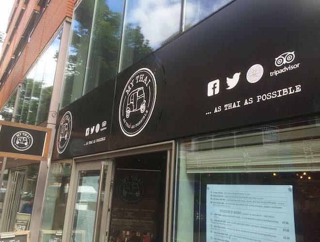 My Thai Restaurant John Dalton Street Manchester