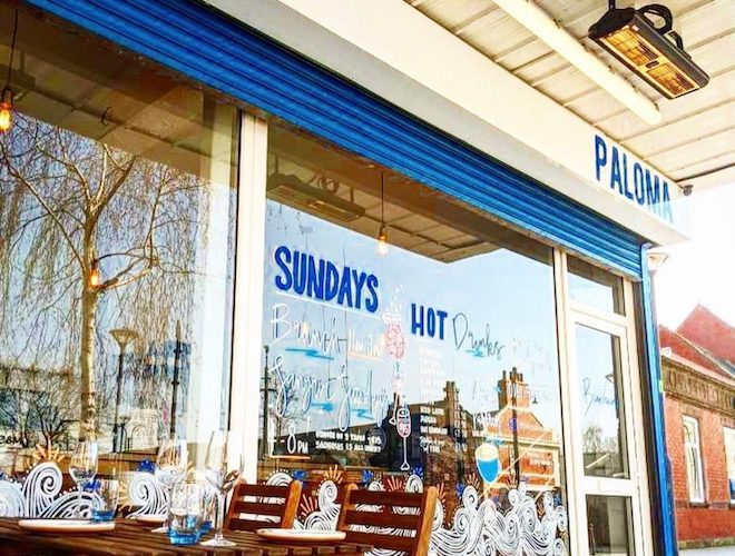 Paloma bar and kitchen in Prestwich, Bury, Greater Manchester