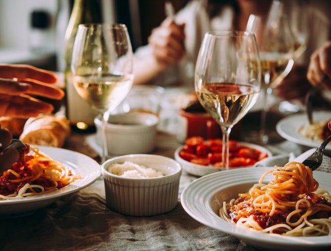 La Filia Italian Restaurant Altrincham Wine and Pasta
