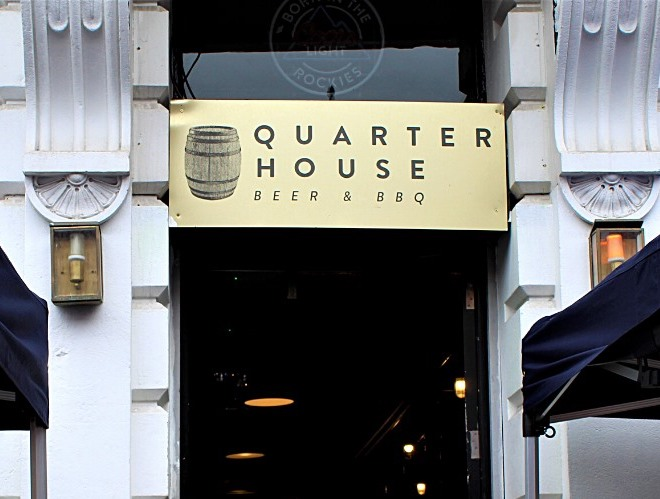 The Quarter House in the Northern Quarter, Manchester