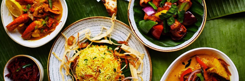 curry, rice, prawns, menu at Sigiriya Sri Lankan Restaurant Hale