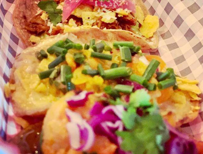 Tacos on the menu at Southside Tequila Joint Withington