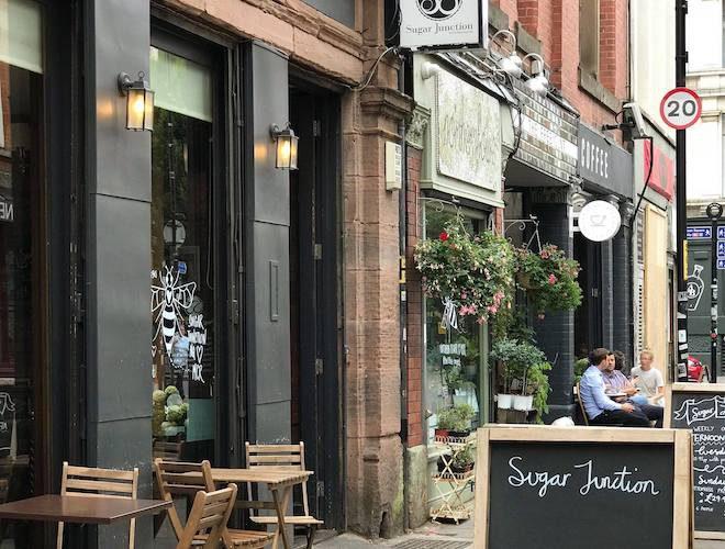 Sugar Junction Northern Quarter Manchester