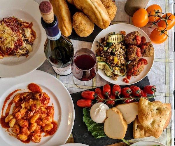 Produce from Lupo caffe Italiano