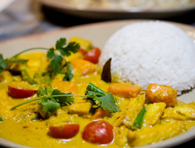 Tampopo singaporean curry