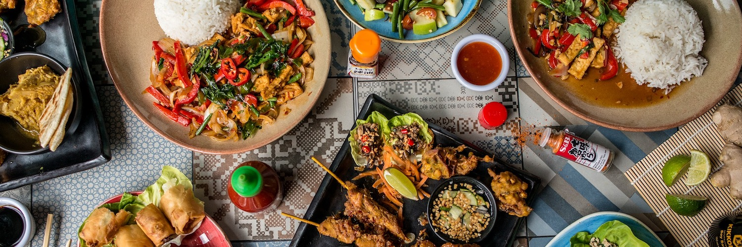 a menu selection from Tampopo Thai Restaurant Manchester Albert Square