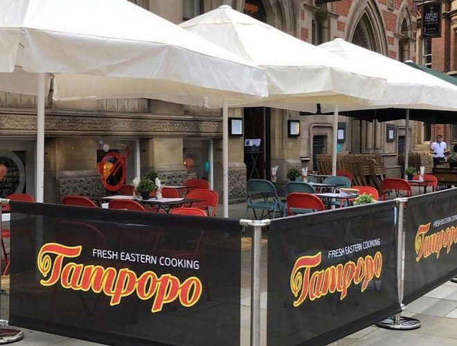 Tampopo Thai Restaurant Manchester Albert Square