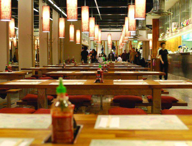 Tampopo Thai Restaurant Trafford Centre Manchester