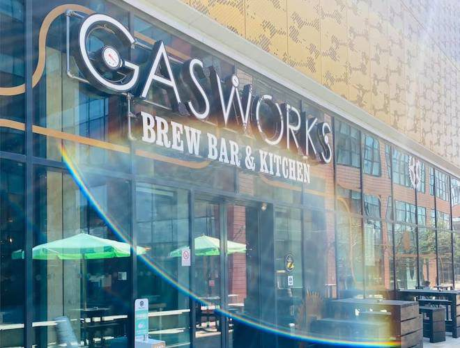 The Gasworks on First Street, Manchester