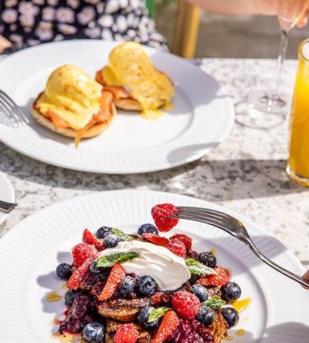 Champagne brunch at Cote Brasserie in Manchester city centre